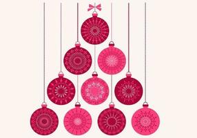 Retro-christmas-ornament-vector-background