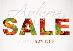 Autumn-sale-vector-background