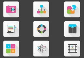 Bright Miscellaneous Icon Vector Pack