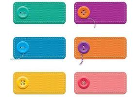 Fabric-banner-vectors-with-buttons-pack