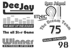 Skate och Urban Vector Pack