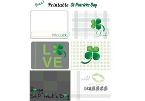 Free Vector St Patrick's Vector Printables
