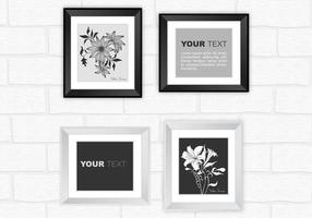 Modern-silver-and-black-frame-vector-pack