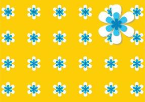 Flower Power Background Vector Pack