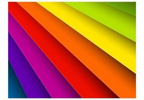 Bright Rainbow Background Vector