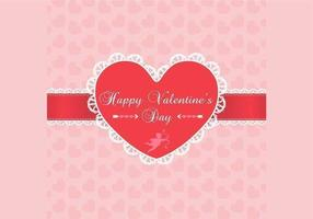 Lace-valentine-s-day-background-vector