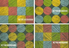 Retro-sketchy-background-vector-pack