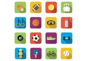 Vetores de ícones esportivos