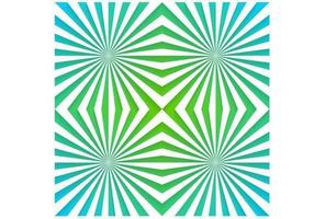 Emerald Sunburst vector behang pak