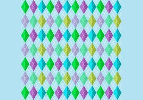 Bright Harlequin Background Vector