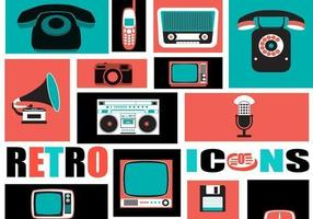 Retro-tech-icon-vector-pack