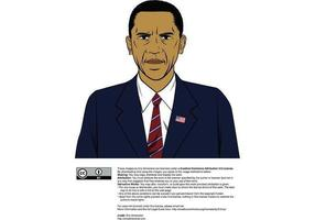 Barack Obama mix vector