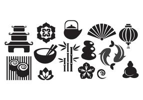 Japanese-icons-set-vector