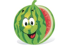 Cartoon-watermelon-vector