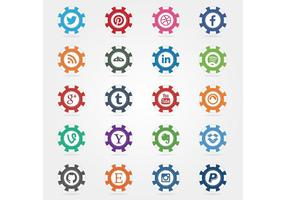 Social-poker-chips-vector-icons