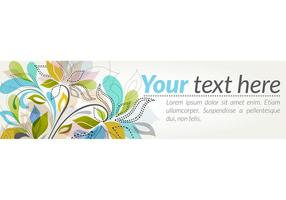 Foral-banner-vector-graphic