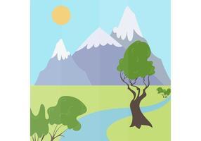 Landscape-vector-illustration