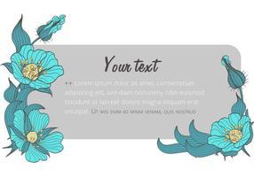 Flower-banner-template-vector