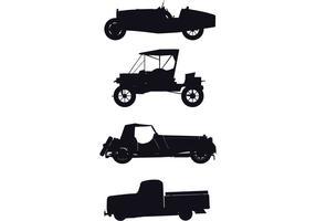 Retro-car-silhouettes-vector