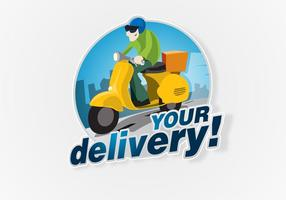 Free-delivery-logo-vector