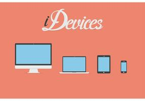Free-vector-flat-idevice-icons