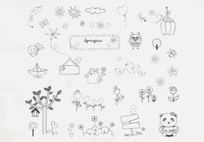 Hand-drawn-spring-vector-pack