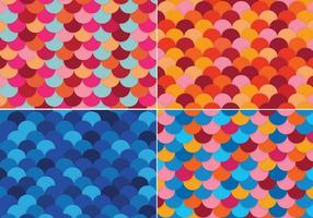 Colorful-fish-scale-backgrounds-vector