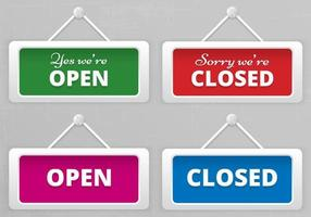 Open-and-closed-hanging-sign-boards-vector
