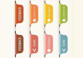 Vertical-feedback-tab-button-vectors