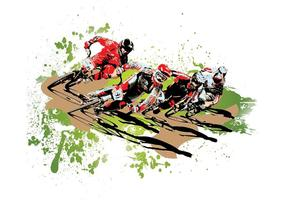USA BMX Biker Vector Elite Pro Pack