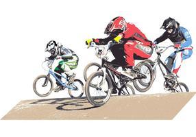 USA BMX Biker Vector Pack