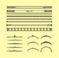 Decorative Vintage Border Vectors