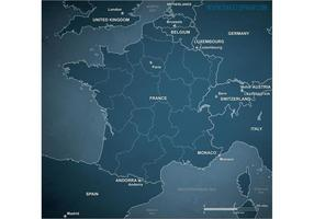 Free-vector-map-of-france