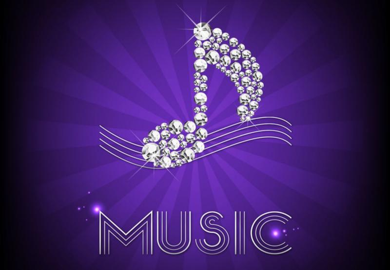 Musical Notes Background Purple | www.pixshark.com ...
