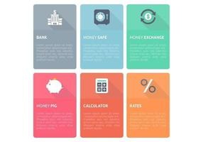 Bank-finance-design-template-vector-set