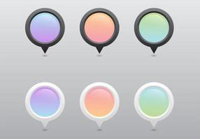 Pastel Pointer Vector Set