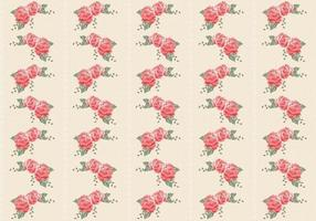 Retro-roses-seamless-pattern-vector