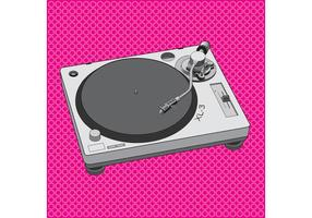 DJ Equipment Turntable Design
