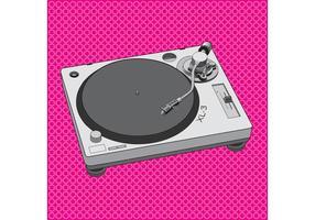 DJ Equipment Turntable Design