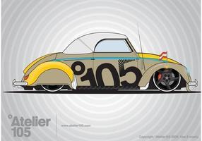 grafica volkswagen beetle