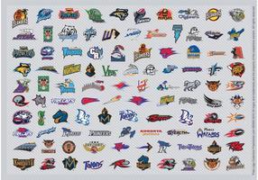 Afl voetbal logo's