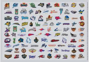 Afl logotipos de futebol