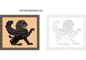 Escudo del león antiguo