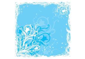Blauwe Bloemgrafiek