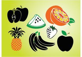 Graphiques de fruits