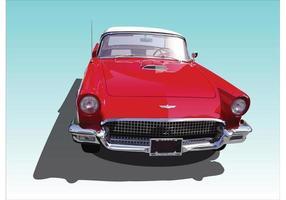 Vintage Thunderbird vector