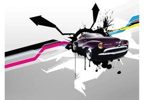 Retro Car Wallpaper