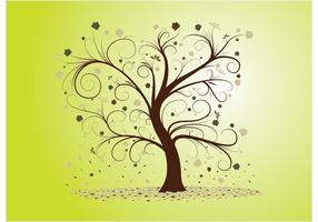 Árbol rizado