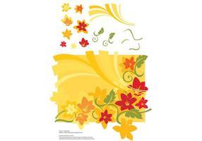 Sommer Blumen Grafiken
