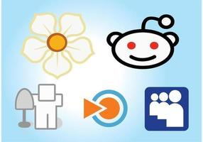 Social-media-icons-set